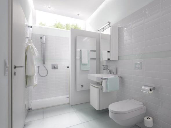 Weißes Bad