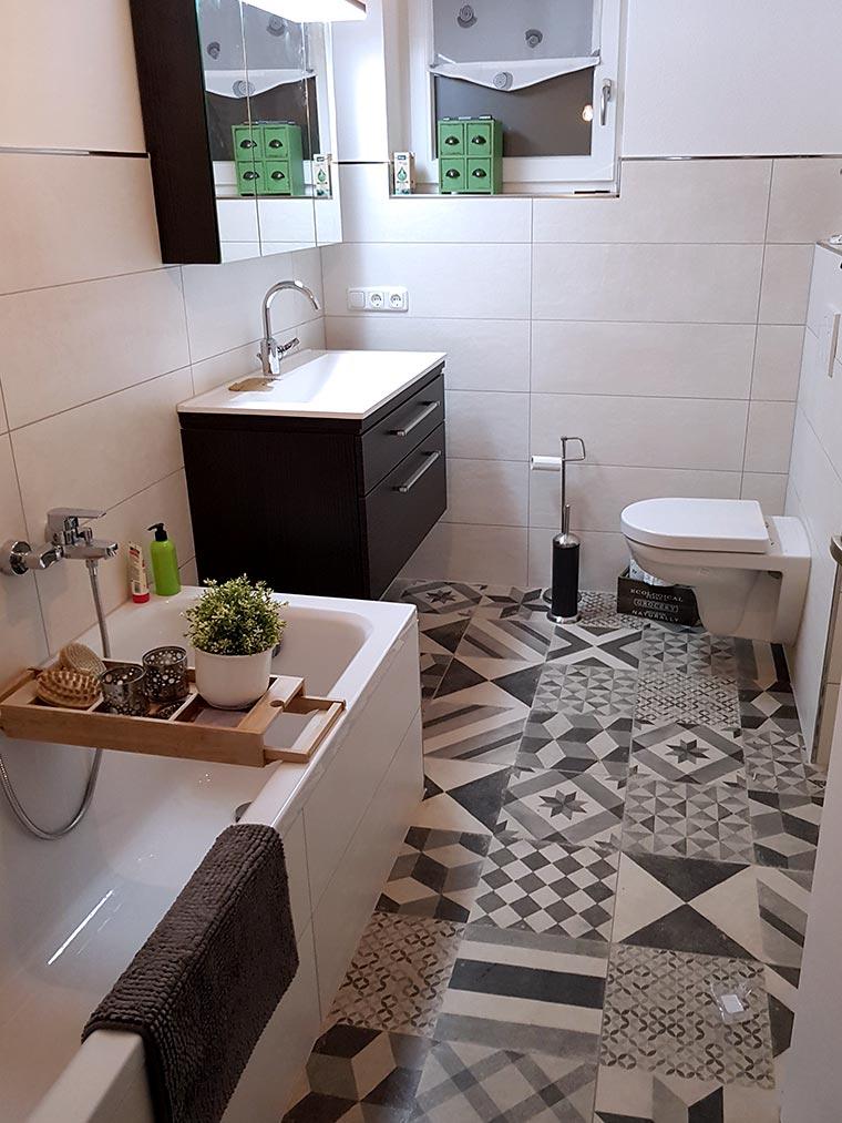 Badezimmerrenovierung in Regen